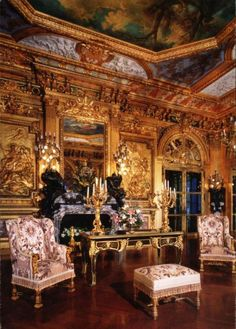 Image detail for -Marble House - The Ballroom ou the Gold room - Newport, Rhode Island ...
