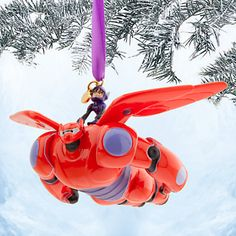 "Hiro and Baymax make an heroic ormament HIRO HAMADA & MAYBAX SKETCHBOOK ORNAMENT (from ""Big Hero 6"") #Disney"
