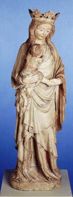France  Madonna and Child,ca. 1380