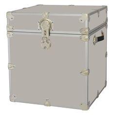 New Rhino Storage Trunk Footlocker 18x18x20 For Camp, College U0026 Dorm. USA  Made #