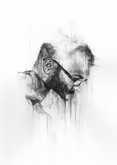 Watersoluble sketching pencil on paper, Richard Stark ART Portrait, Pencil Drawings, Abstract, Illustration, Artwork, Stark, Sketching, Behance, Paper