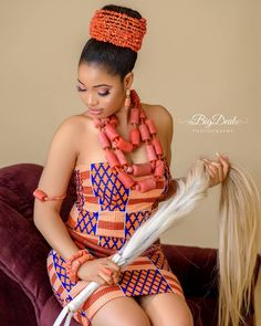 Stunning Isi –Agu Styles For Women - Lab Africa Nigerian Wedding Dresses Traditional, Traditional Wedding Attire, African Traditional Dresses, African Wedding Attire, African Attire, African Wear, African Style, African Inspired Fashion, Latest African Fashion Dresses