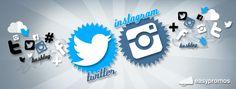 Concursos en Twitter e Instagram utilizando un hashtag. Intégralos con tu concurso de Facebook.