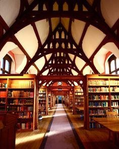 """I think I might be torn by my absolute desire to spend days exploring the nooks & crannies, and fear of being there after dark, a' la """"Silence in the Library""""."""