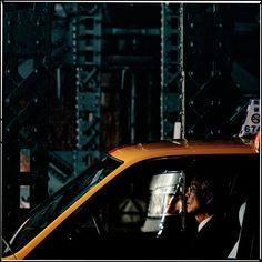 """Photographer in Tokyo, Japan // """"How many more miles to go?""""; Elderly cab-driver, Yurakucho, Tokyo"""