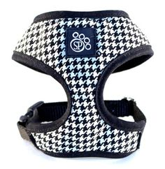 Houndstooth Harness #dogs #harness