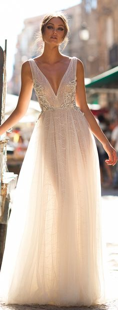 MUSE by Berta : Sicily Wedding Dress Collection - Belle The Magazine