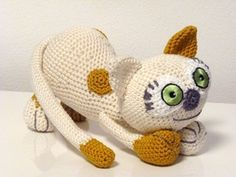 Crochet Pattern Kitten Stella Amigurumi  PDF Cute by SKatieDes