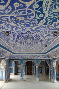 India-Jaipur-24 | Blue Room - City Palace - Jaipur