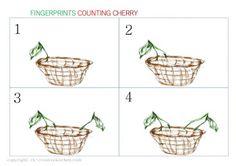 CHERRY AND WOOD - #FINGERPRINT NUMBERS FREE PRINTABLE