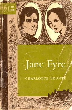 Jane Eyre paperback cover - 1965