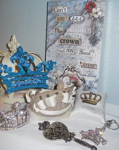 CROWN GIFTS, ORNAMENT, CROWN JEWELRY, QUEEN ART