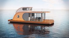 Innovative Nautilus Houseboats for Modern Lifestyle