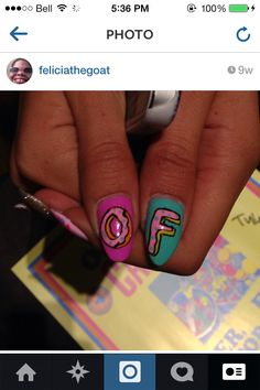 Odd future nails something I'll be trying next