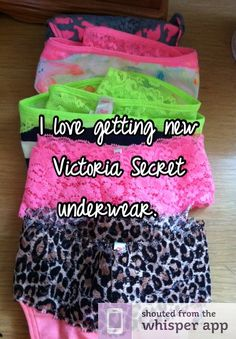 buy me vs pink underwear lol but don't get the ones with seams or ...