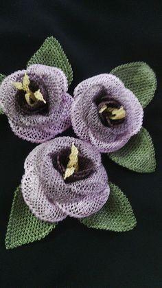 Oya lace flowers