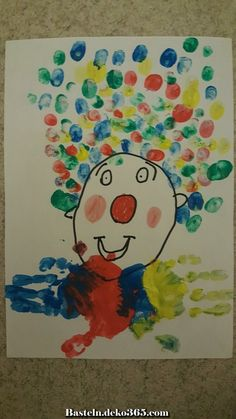 For carnaval day. Clown Crafts, Circus Crafts, Carnival Crafts, Winter Crafts For Kids, Winter Kids, Art For Kids, Preschool Circus, Preschool Crafts, Toy Trumpet