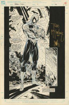 Comic Book Artwork-SPIDER-MAN #7 PAGE 22 SPLASH BY TODD MCFARLANE