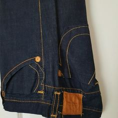 True  religion  jeans Blue men's  denim, like new and dry cleaned. True Religion Jeans Boot Cut