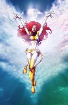 Jean Grey - White Phoenix of the Crown