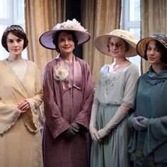 "Downton Abbey And Period Drama (@justdowntonabbey) on Instagram: ""Our ladies of Downton #downtonabbey#downton#justdowntonabbey"""