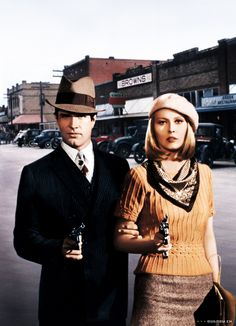 dreams and idle pleasures (hollywoodlady: Bonnie and Clyde (1967))