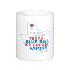 I Survived the Texas Ice Cream Famine Mug