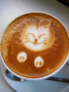 Friday. Coffee. SMILES. #coffee #latteart