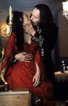 Directed by Francis Ford Coppola. With Gary Oldman, Winona Ryder, Anthony Hopkins, Keanu Reeves. The centuries old vampire Count Dracula comes to England to seduce his barrister Jonathan Harker's fiancée Mina Murray and inflict havoc in the foreign land. Gary Oldman, Sexy Horror, Gothic Horror, Bram Stoker's Dracula, Dracula Movie 1992, Dracula Cast, Keanu Reeves, Terror Sexy, Eiko Ishioka