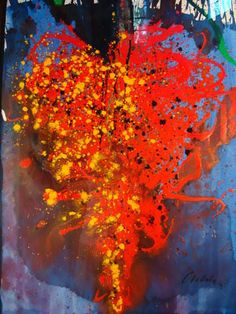 Dale Chihuly.  Would I give my first born to own one little piece of his glass?  thinkinggggggg.................. maybe!