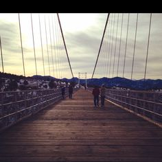 """Royal Gorge Bridge"", CO.  When we got to the other side my husband and oldest son had a Coors beer together!!"