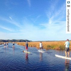 We could SUP the day away with this beautiful scenery! #Repost @northguanaoutpost  Grab some friends and come paddle!  Wednesday: 1/2 Price Rentals for half & full day  Saturday: 10 AM  BŌTE Paddleboard Demo Day @ Guana Lake  11 AM Paddle Pilates  Sunday: Guana River Sunset Paddle Daily: Guided Fishing Charters available & Rentals  #NorthGuanaOutpost : @kittykatscratchmeow  #staugustine #floridashistoriccoast #pontevedrabeach #beautiful #beach #lovefl #sharealittlesunshine #nofilter…