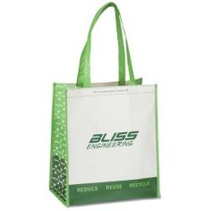 Refresh your advertising efforts with this recycled tote!