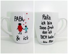Father's Day Gift PAPA Cup ♥ Gift Mug ♥ Father's Day Gift ♥ Beautiful Gift Dad Mug, The Gift Not Just for Father's Day: PAPA Mug by Name, as an individual gift with your name … Source by Claudchenxxx