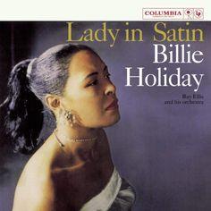 Portada del disco Lady in Satin de Billie Holiday