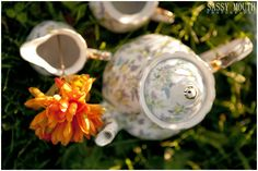 Vintage Tea Cup Country Wedding Décor by Country Girl Collections