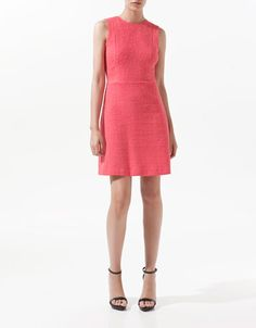 LINEAR DRESS - Dresses - Woman - ZARA United Kingdom