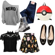 talk nrdy to me by siarai on Polyvore featuring polyvore fashion style Alice + Olivia Levi's Charlotte Olympia Dr. Martens O-Mighty
