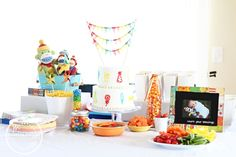 Color Me Happy {Emmitt's 1st Birthday} | Project Nursery