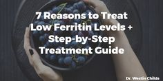 From low energy to hair loss, low ferritin may be the cause of many symptoms you are experiencing. Learn how to safely increase your ferritin in this post.