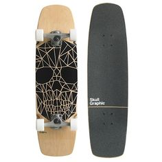 Gold Coast - Skull Graphic - Skateboard As a present 94aa430cc51