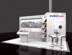 Company - EuroClad Exhibition - MIPIM 2016 Location - London Olympia Exhibition Stand Design, Olympia, London, 3d, Exhibition Stall Design, London England