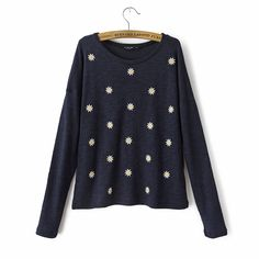 Scattered Daisies Sweater