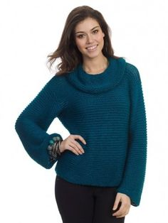 Now is the time to learn how to knit a sweater that will have you looking your best morning, noon, and night. The Easy Seaside Sweater is the beautiful sweater knitting pattern you don't have to be a professional knitter to cast on. With patience and plenty of time, even the most novice of knitters can cast on this gorgeous knit.