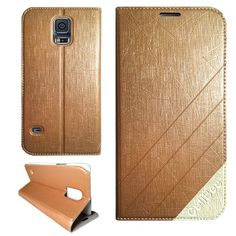 Just got a Galaxy S5 and was not impressed with the store's case selection. Can't decide if I want a wallet-style case or a hard case! But I want it in gold!