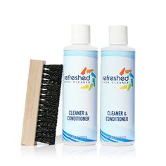 I've used this cleaner for the past 2 years on my sneakers. Shoe Cleaner, Clean Shoes, It Works, Shampoo, The Past, Personal Care, Bottle, Sneakers, Tennis