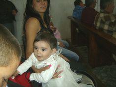 Ziquítaro, fiesta patronal. Un ángel, en misa