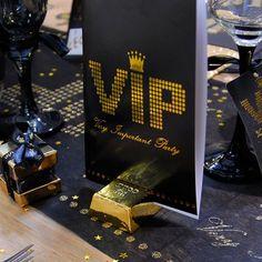 Cumpleaños temáticos Fiestas VIP Marcasitios lingote de oro