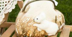 """Купить """"Мышь полевая"""" Валяная сумочка - бежевый, сумка ручной работы, Валяние, шерсть, мышка"""