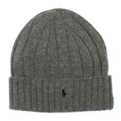 Men's wool blend beanie by Ralph Lauren - variety of colors now in at www.redtagfashion.com